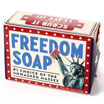Patriotic FREEDOM SOAP