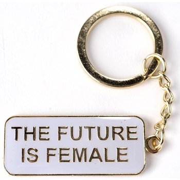 THE FUTURE IS FEMALE KEYCHAIN