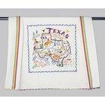 Texas Traditions STATE OF TEXAS DISH TOWEL