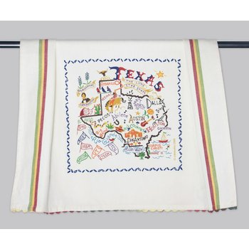 Austin & Texas State of Texas Dish Towel