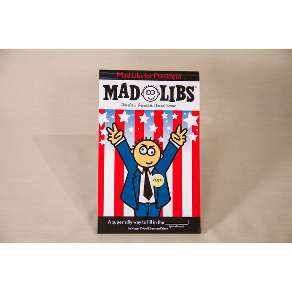 Just for Kids Mad Libs For President Activity Book