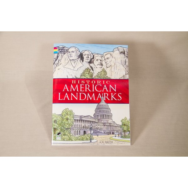 Just for Kids HISTORIC AMERICAN LANDMARK COLORING BOOK