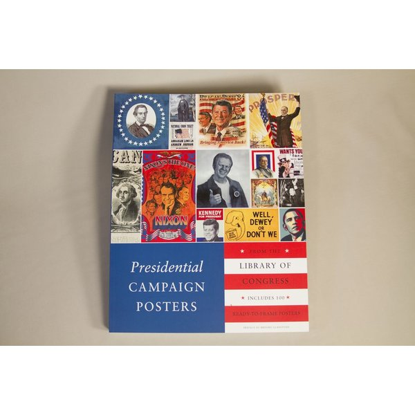 PRESIDENTIAL CAMPAIGN POSTERS  - PAPERBACK