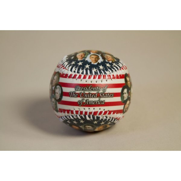 Patriotic PRESIDENTS BASEBALL