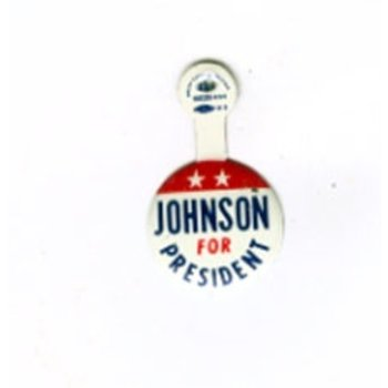 All the Way with LBJ Johnson For President Campaign Tab