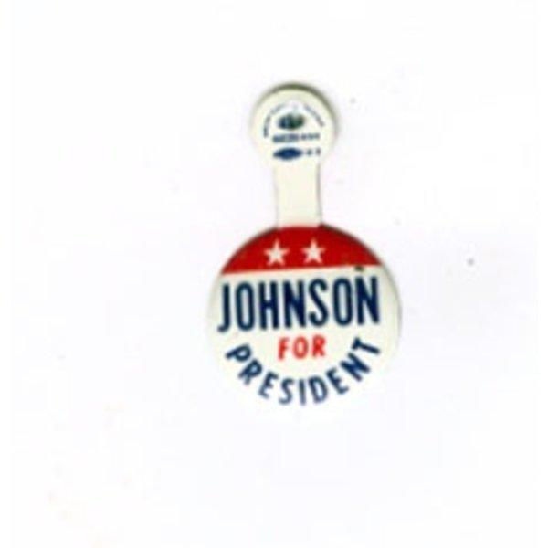JOHNSON FOR PRESIDENT TAB