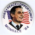 MONDALE JOBS PEACE