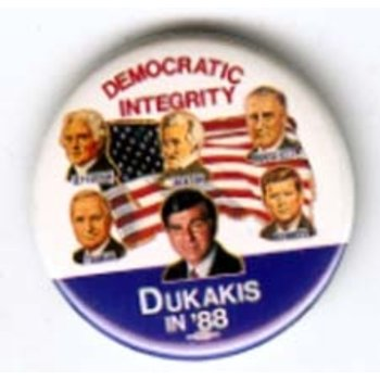 DUKAKIS DEMOCRATIC  INTEGRITY