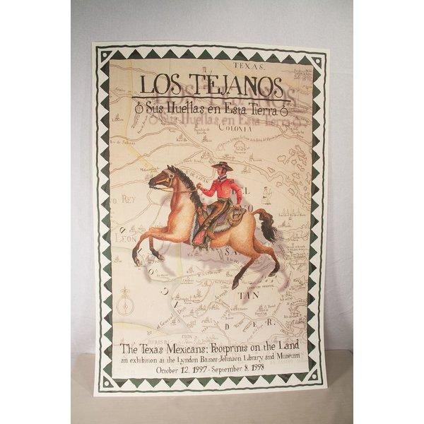 Austin & Texas sale-LOS TEJANOS POSTER