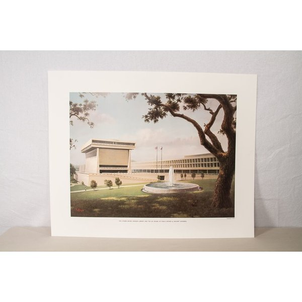 All the way with LBJ WINDBERG LBJ PRESIDENTIAL LIBRARY PRINT POSTER