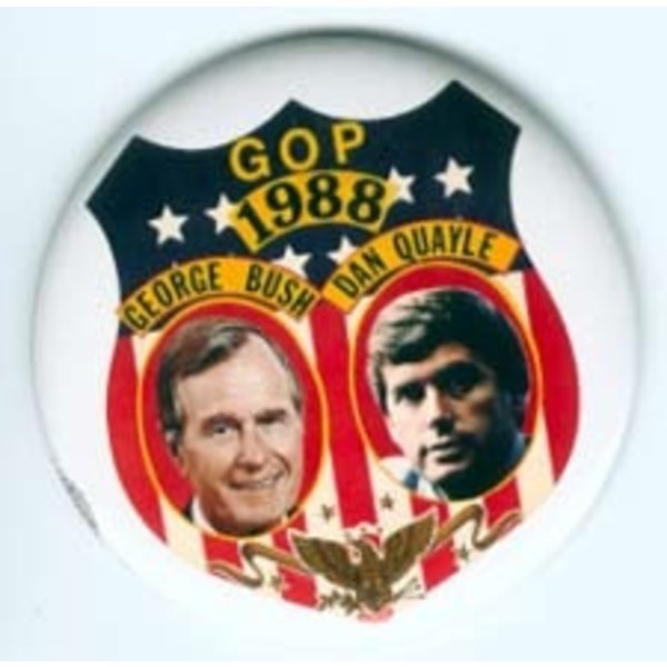 GHW BUSH GOP '88 LARGE