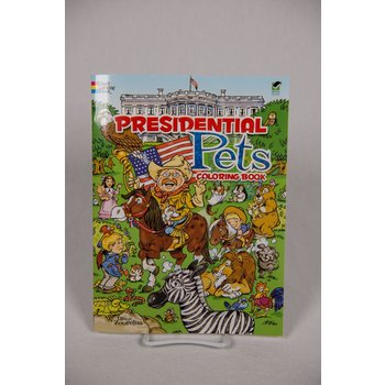 Just for Kids Presidential Pets Coloring Book PB