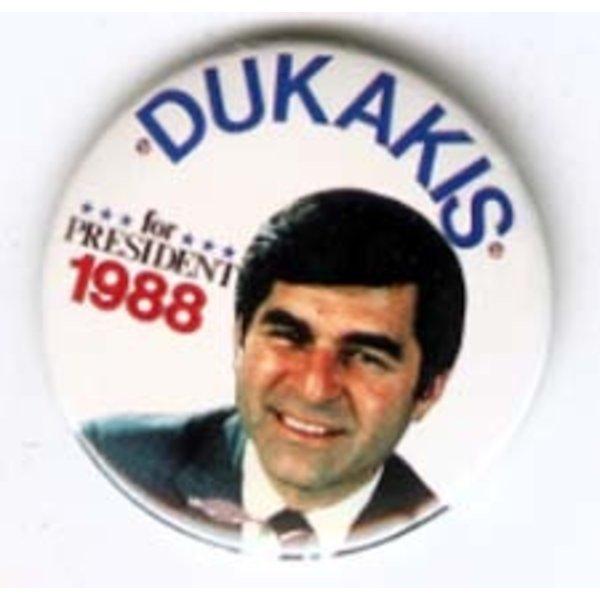 DUKAKIS FOR PRES 1988