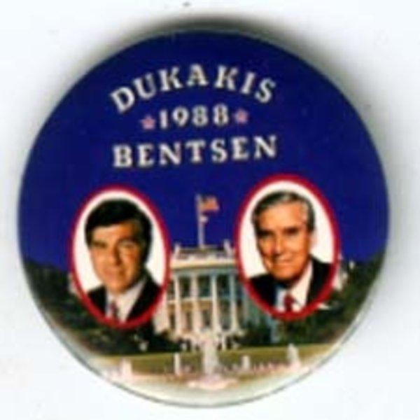 SMALL DUKAKIS 1988 BENTSEN