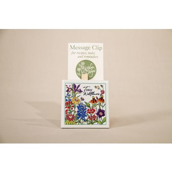 Texas Traditions WILDFLOWERS OF TEXAS MEMO CLIP