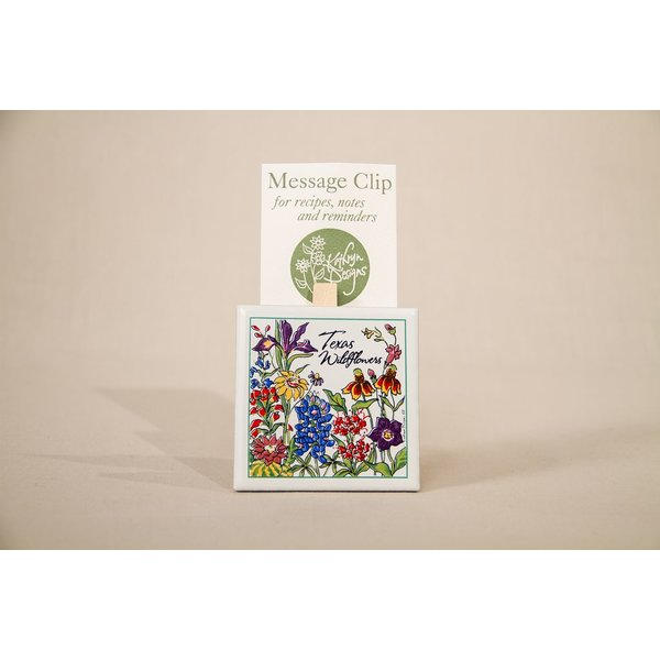Texas Traditions sale-WILDFLOWERS OF TEXAS MEMO CLIP