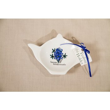 Austin & Texas Texas Bluebonnet Tea Bag Holder