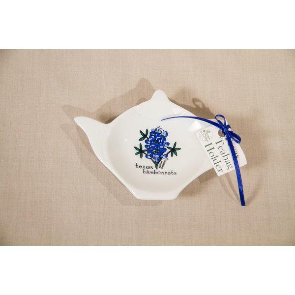 Austin & Texas Texas Bluebonnet Tea Bag Holder