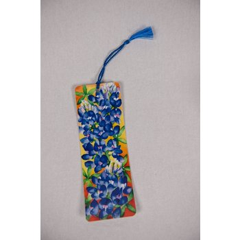 Lady Bird Bluebonnet Bookmark