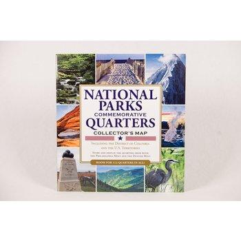 Patriotic QUARTERS OF NATIONAL PARKS COLLECTION FOLDER