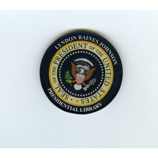 LBJ Presidential Seal Acrylic Magnet