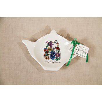 Austin & Texas Wildflowers of Texas Tea Bag Holder