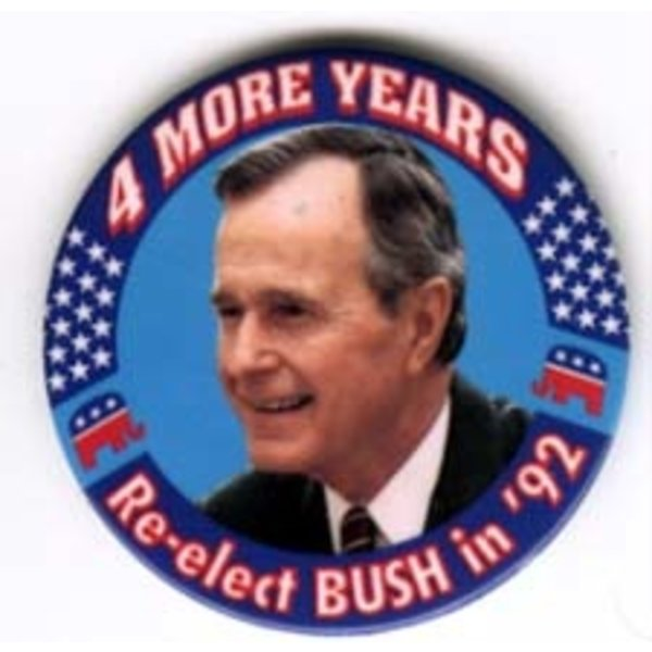 4 MORE YEARS GHW BUSH