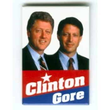 Clinton Gore Rectangle '92