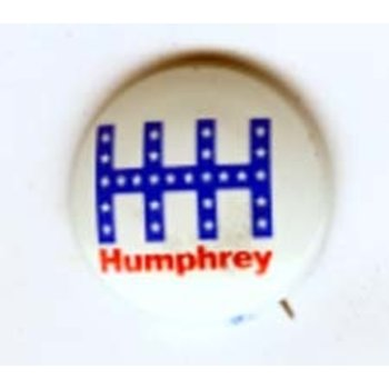 Humphrey HHH Campaign Button