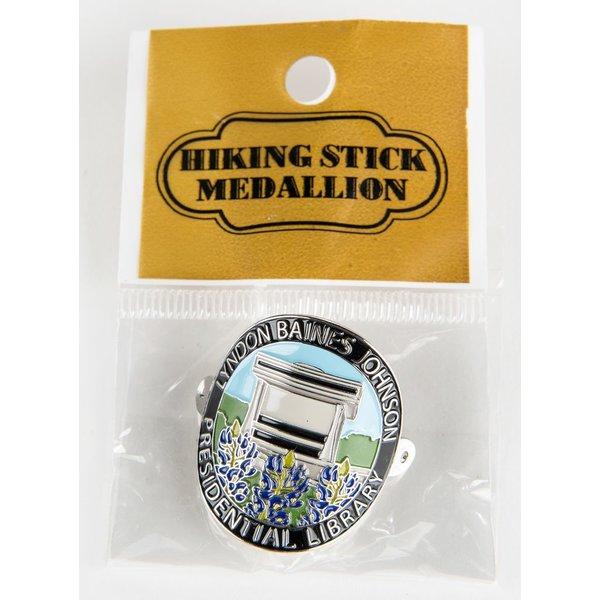 LBJ Walking Stick Medallion