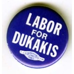 LABOR FOR DUKAKIS blue