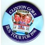 CLINTON GORE BUS TOUR 1996