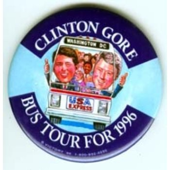 Clinton Gore Bus Tour 1996