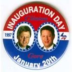 CLINTON INAUGURATION DAY 1997