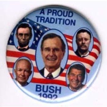 GHW BUSH 1992 A PROUD TRADITION