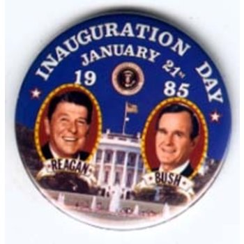 REAGAN BUSH INAUGURATION 1-21-1985