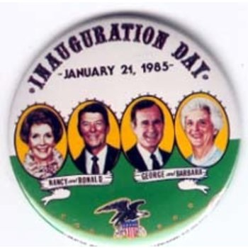 Reagan 1985 Inauguration Day