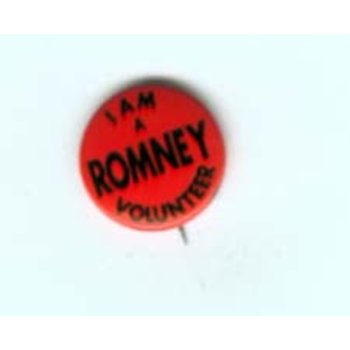 I AM A ROMNEY (SR.)  VOLUNTEER - Gov Race