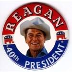 REAGAN 40TH PRESIDENT