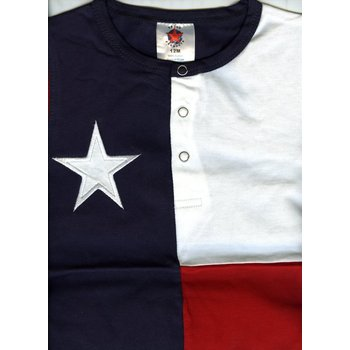 TEXAS FLAG ONESIE