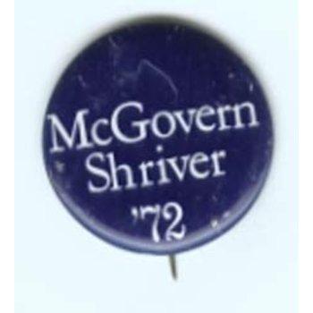 MCGOVERN SHRIVER '72