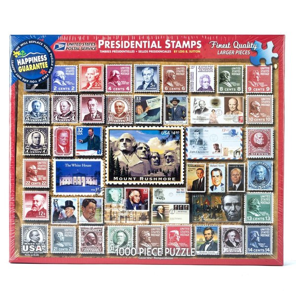 Presidential Stamps 1000 pc Puzzle