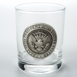 Americana Double Old Fashioned with Pewter Presidential Seal