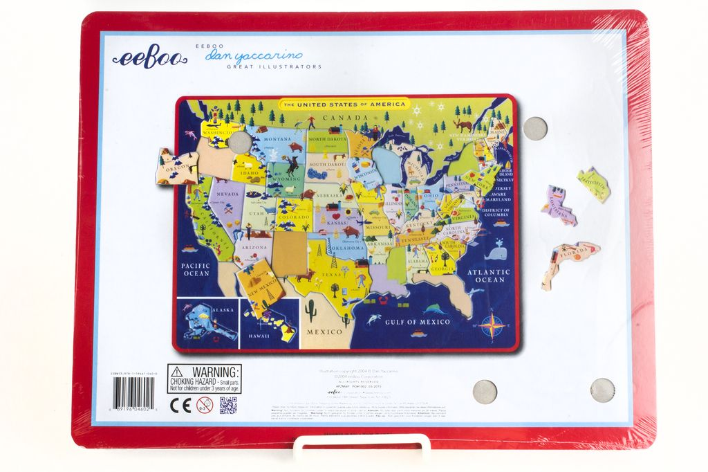 Just For Kids Usa Map Learning Puzzle Ages 5 The Store At Lbj
