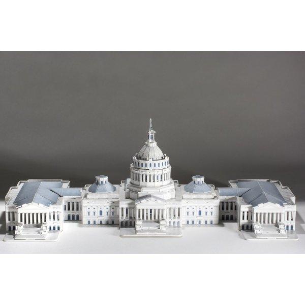 US CAPITOL BLDG 3D PUZZLE