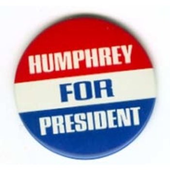 Humphrey for President Campaign Button