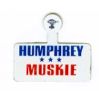 Humphrey Muskie Campaign Tab
