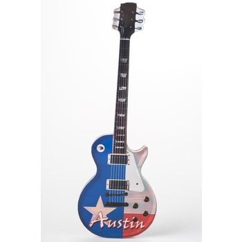 sale-RED WHITE BLUE GUITAR MAGNET