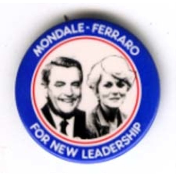 MONDALE FERRARO FOR NEW LEADERSHIP