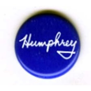 Humphrey Signature Campaign Button